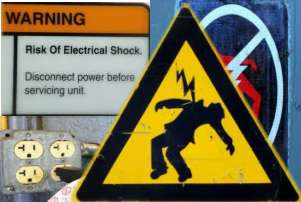 image Electrical Shock Hazard